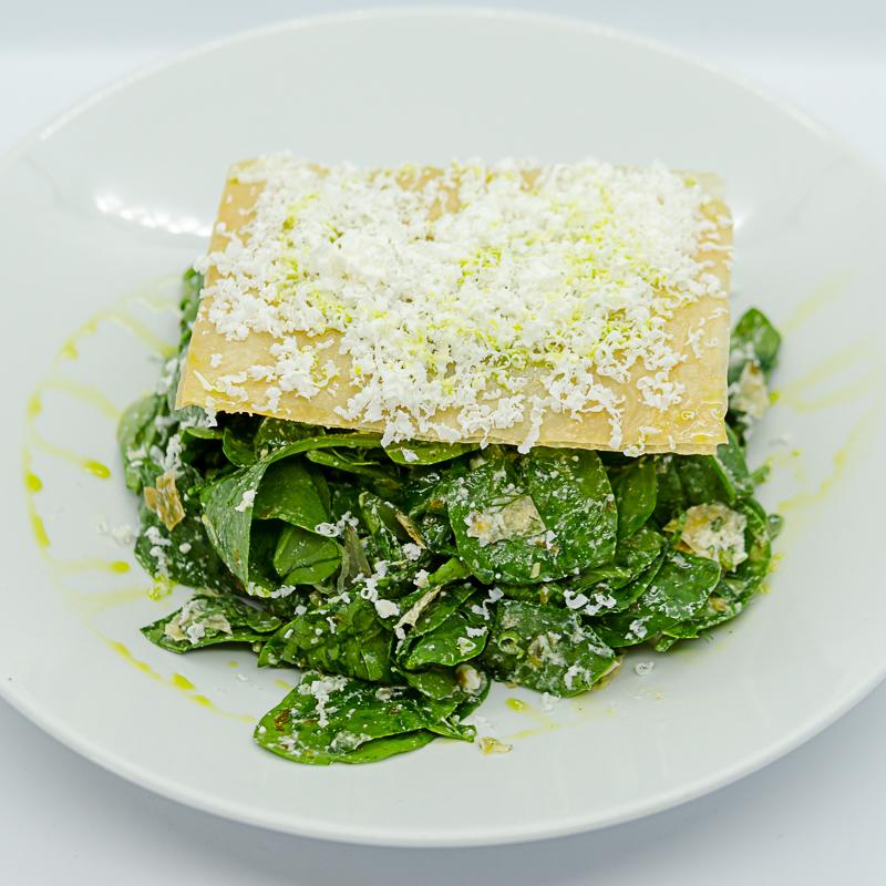 """""""Spinach Pie"""" Salad"""